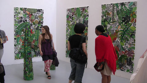 Goldsmiths' Undergraduate Art Show will be open this weekend. Pic: Tim Regan