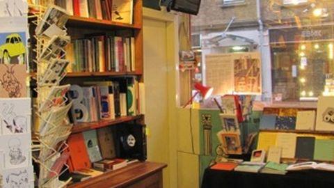 Inside Bookartbookshop