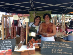 Teresa Holmes and Ana Gomez, owners of Flavours of Spain. Pic: Daniela Paiva