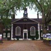 The elegant 18th Century building housing The Geffrye Museum