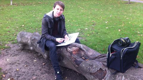Marcus Appleby, student. Pic: Kathryn Sunnucks.
