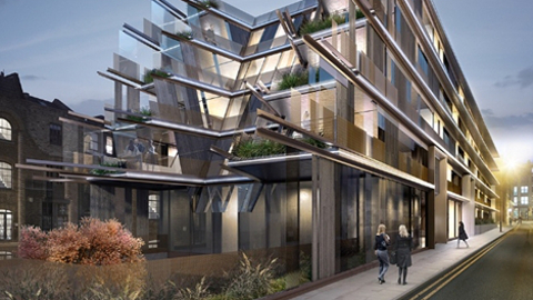 The luxurious Nobu hotel is expected to open in 2016. Pic: Design Week