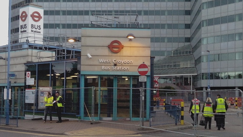 West Croydon bus station is no closed until 2016. (Photo: Giulia Sgarbi)