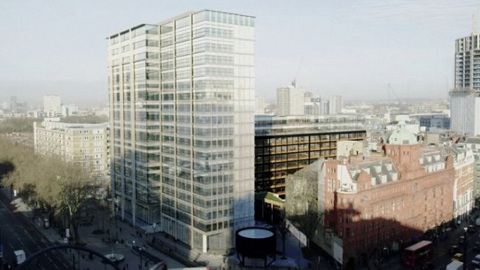 The Hotel Z Shoreditch in Old Street will open in January 2015. Rendering: The Bower