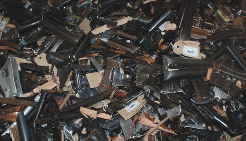 Firearm Surrender. Pic: Metropolitan Police