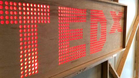 TedX Logo. Pic: Matthew McLaughlin
