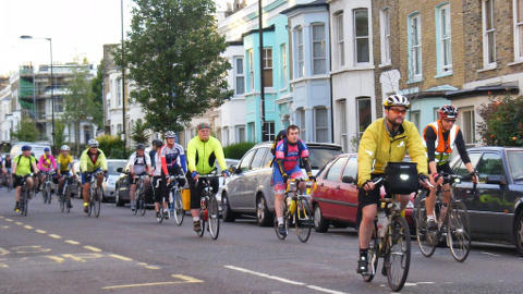 East London Cyclists. Pic: Sludge G