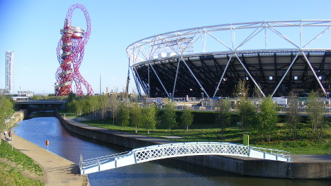 Queen Elizabeth II Olympic Park. Pic: Sludge G