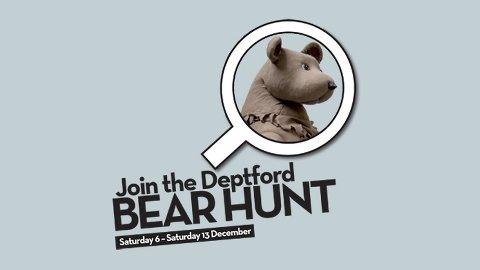Deptford Bear Hunt. Pic: The Albany at Deptford Lounge