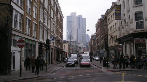 Curtain Road, Shoreditch. Pic: Neil Clifton