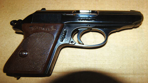 A Walther PPK gun Pic: Met Police
