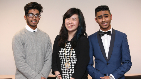 The Young Mayor Team - Shofiqul Deng and Monsur. Pic: Tower Hamlets Council