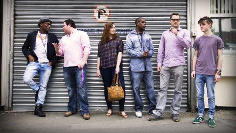 The team at Phundee, a Shoreditch-based company. Pic: Ashon Spooner