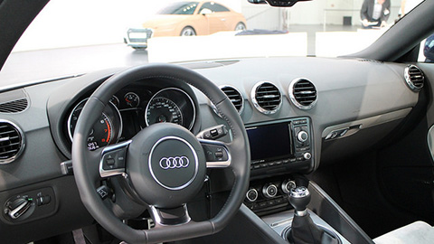 Interior of Audi car. Pic: Robert Basic
