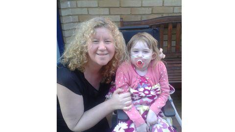 Lynn is now raising money for Great Ormond Street Hospital Pic: Lynn Baker