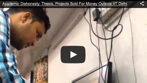 Delhi, thesis fraud