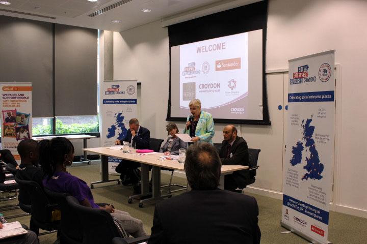 Croydon became the first London borough to receive social enterprise status. Pic:  Croydon Council