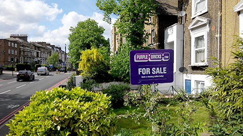A house for sale in Lewisham. Pic: Arnau Busquets Guardia