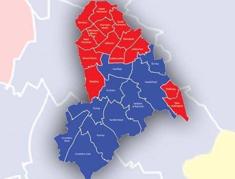 Community wards in Croydon Pic: Croydon Council