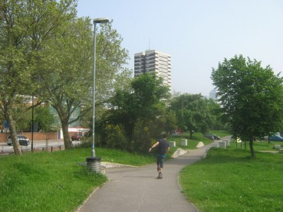 Mile End Park   Pic David Anstiss