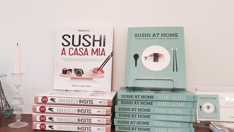 Sushi at Home takes pride of place in the kitchen Pic: Catherine Davies