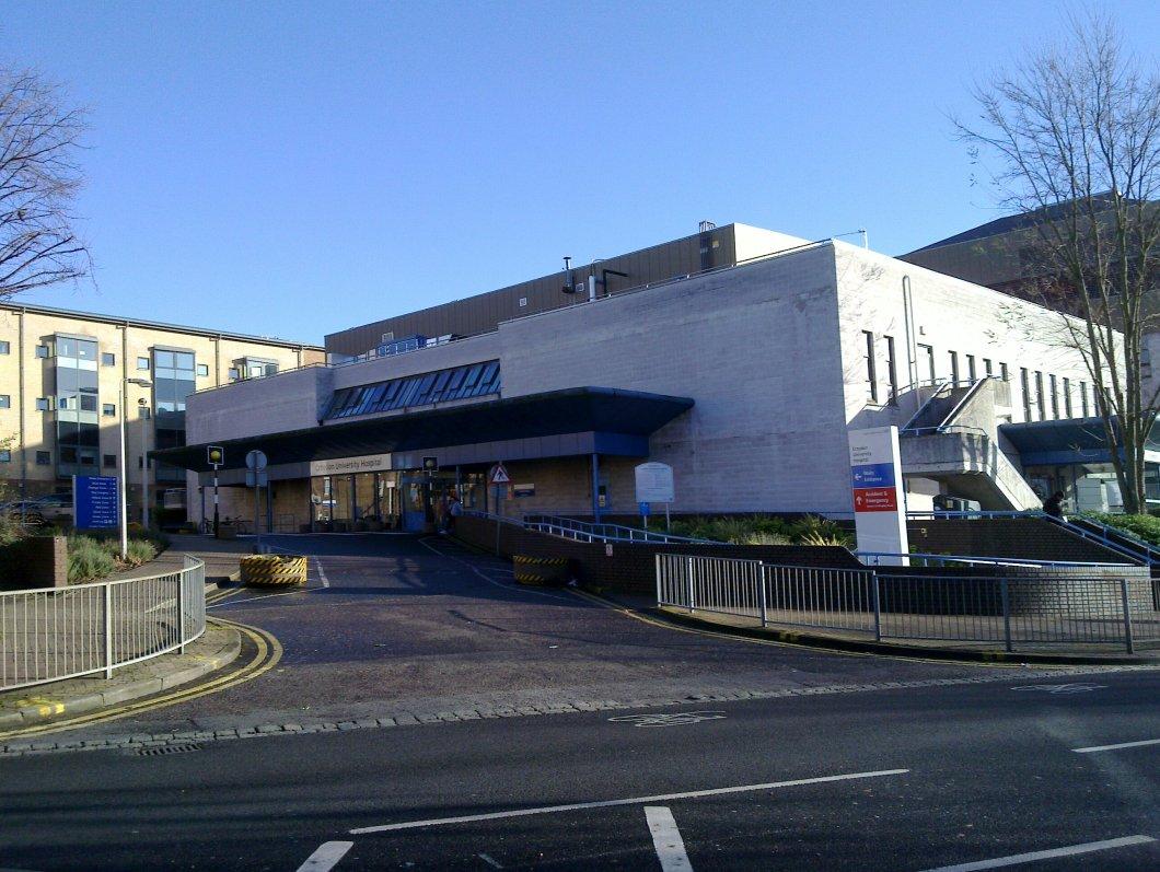 Croydon University Hospital are facing a shortage of beds.