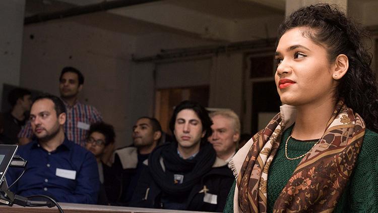 Nafisa Bakkar, CEO of Amalia, at Tech City. Pic: Rob Wilson Jnr - Fluid4Sight