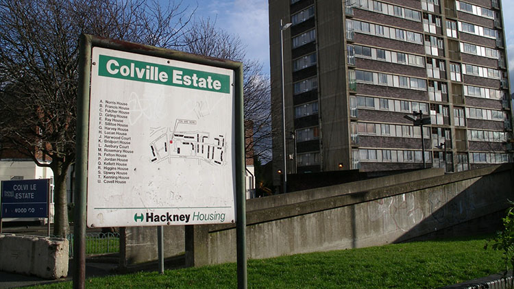 Social Housing in Hackney is being made available to buy for current residents. Pic: Danny P Robinson