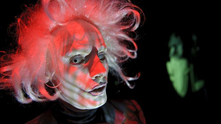 Dickie Beau presents a poetic performance of peculiar personas. Pic: Joel Fildes