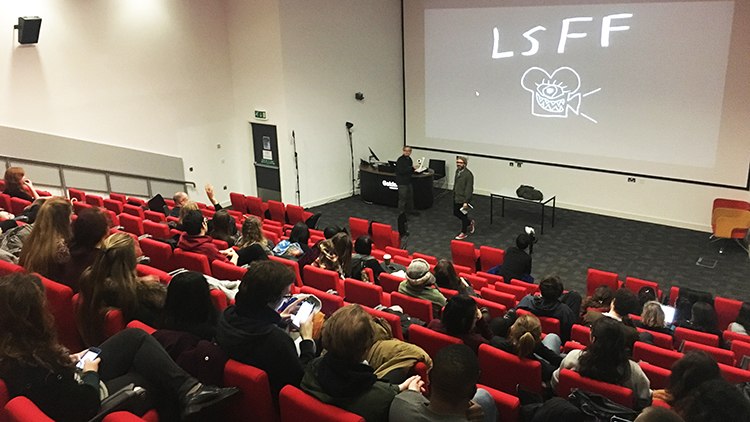 About 50 people came to the screening of LSFF on Wednesday night. Pic: Jungho Choi