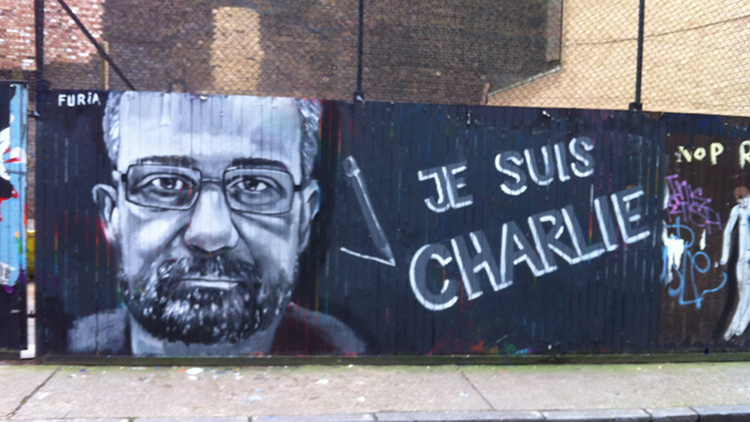 Charb painted by Furia ACK. Pic. Furia ACK