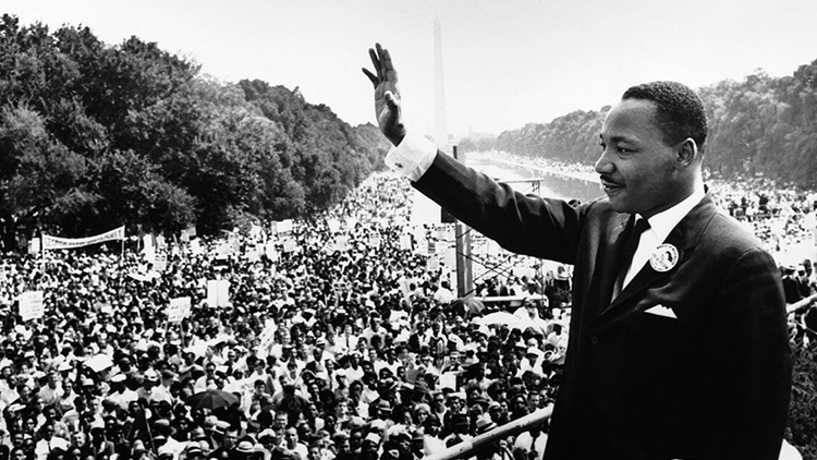 Martin Luther King. Pic: Wikipedia Commons