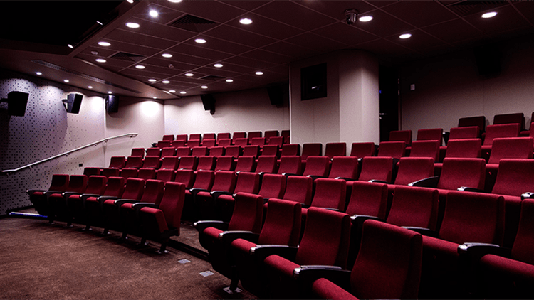 The 101-seat cinema features accessible seating for disabled visitors. Pic: Courtesy Goldsmiths College, University of London