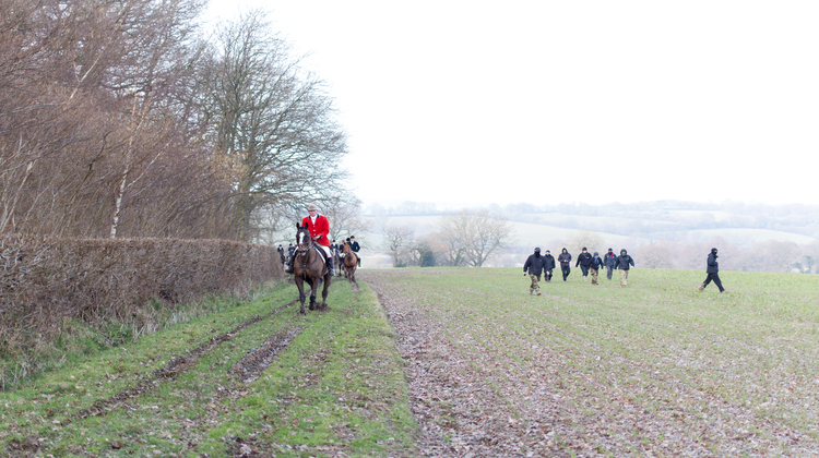 The Old Surrey Burstow & West Kent Hunt claim they do not engage in illegal hunting. Pic: Matthew Kirby