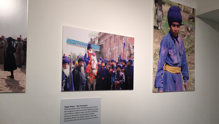 Works on display at the festival. Pic: Shima Begum