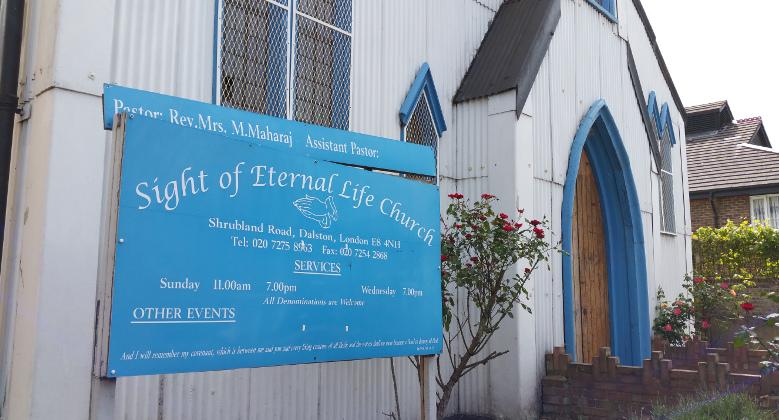 The Sight of Eternal Life Church Pic: Joanna Turner