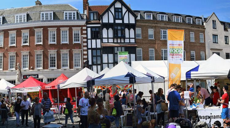 A London Food Festival, like that to be seen in Croydon this year. Pic: Stu Smith