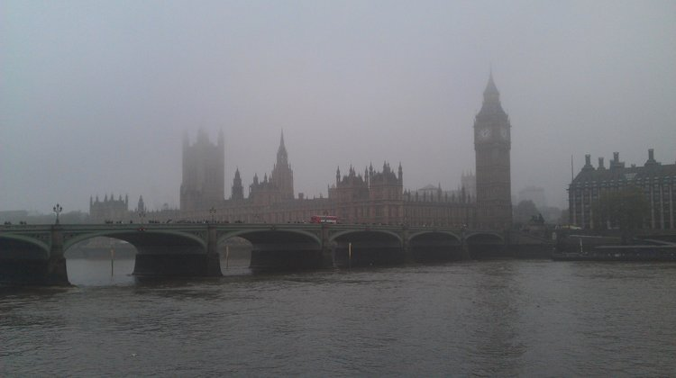 Air pollution in London. Pic: Wikimedia Commons