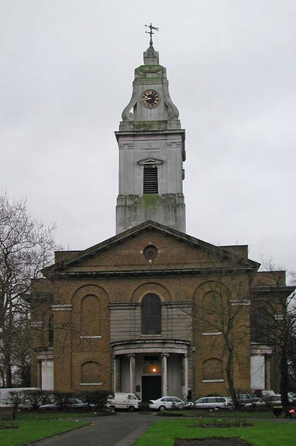 St John's Church, Hackney by John Salmon