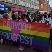 Hundreds take to the parade down North End in PrideFest celebrations. Pic; Croydon PrideFest (Flickr)