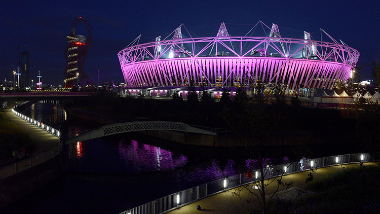 Olympic Park Pic; Paul Nattall