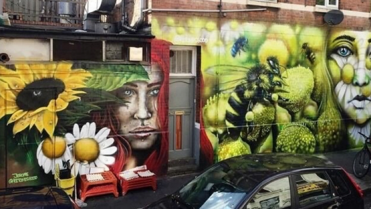 Another piece by Jerome also in Bethnal Green. Pic: Jerome Davenport