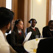 Young people lead the discussion at 'Hackney Wick Through Young Eyes' report