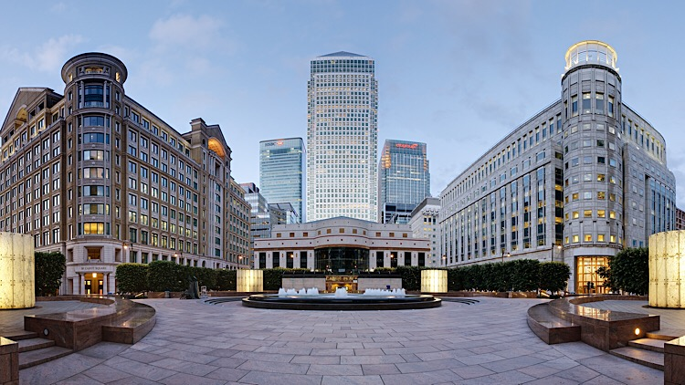 5G mobile technology goes live in Canary Wharf