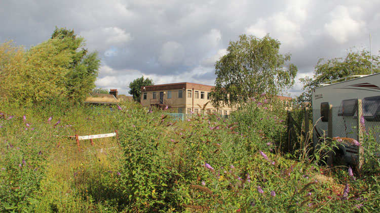 The Church Grove site set to be redeveloped in Ladywell Pic: RUSS