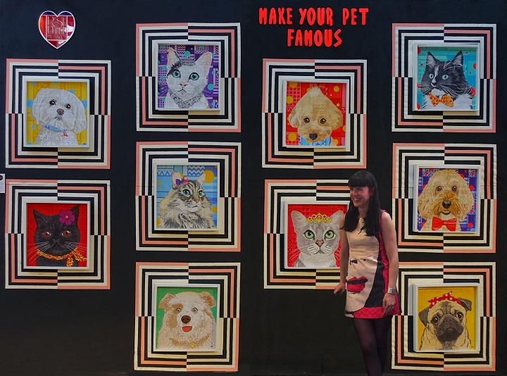 Rose Hill at the Make Your Pet Famous Picknik Exhibition