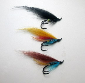 Fox Wings for fly fishing on the River Moy.