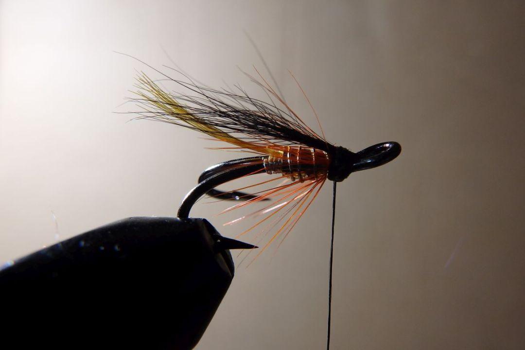 tying hair wing flies 16