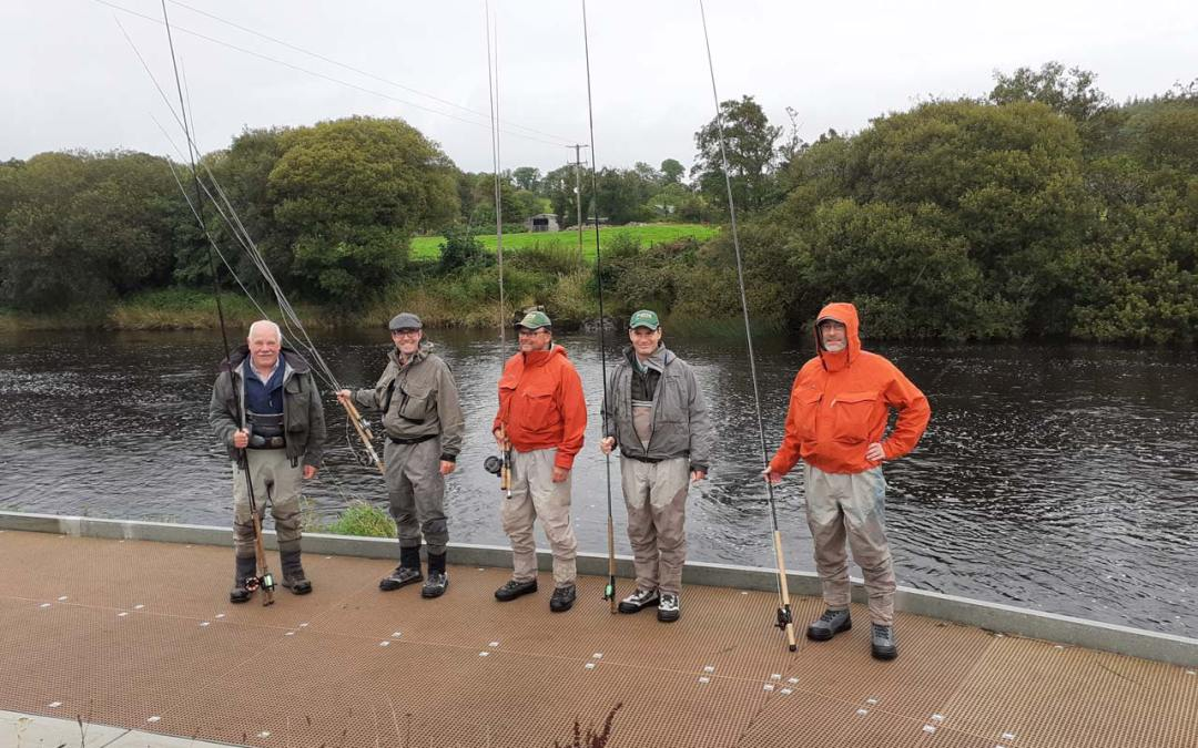 Paddy McDonnell Gives Spey Casting Workshop to Inland Fisheries Advisors