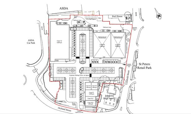 Plans submitted for 70,000 sq ft shopping park at Peel
